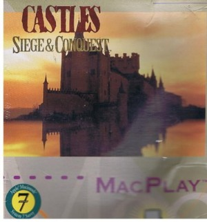 """CASTLES: SIEGE AND CONQUEST (3.5"""" DISKETTE VERSION FOR APPLE MacINTOSH) BY MacPLAY/ INTERPLAY"""