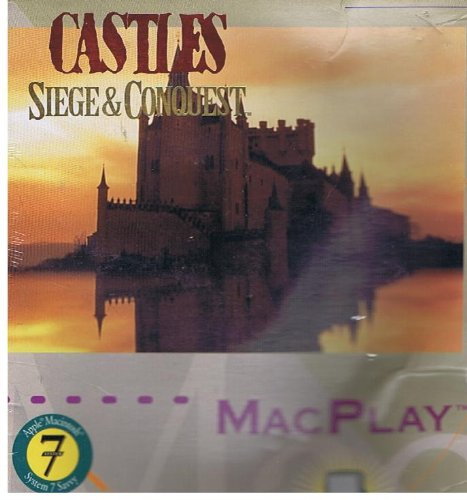 "CASTLES: SIEGE AND CONQUEST (3.5"" DISKETTE VERSION FOR APPLE MacINTOSH) BY MacPLAY/ INTERPLAY"