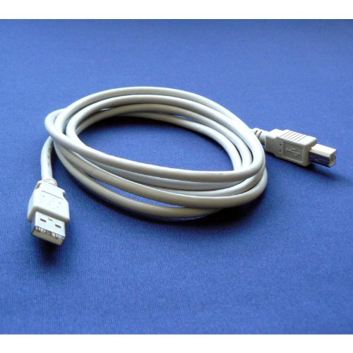 Brother MFC-J825DW Color Printer Compatible USB 2.0 Cable Cord for PC, Notebook, Macbook - 6 feet White - Bargains Depot®