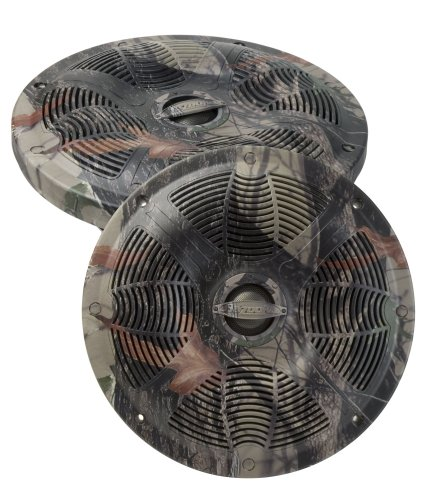 Bazooka Camo Series MAC8002C 8-Inch 2-Way Ma Coaxial