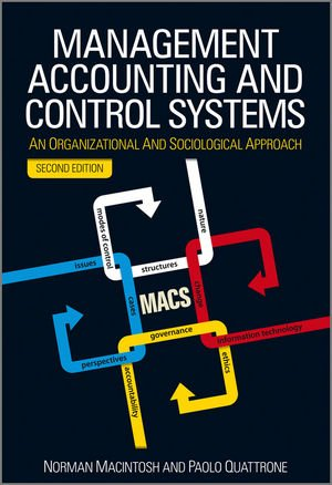 Management Accounting and Control Systems: An Organizational and Sociological Approach