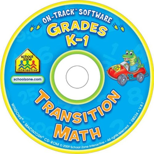 School Zone Software On - Track Transition Math for Windows and Macintosh - Ages 5 to 7